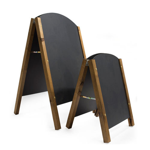 Arched Chalk A-Board