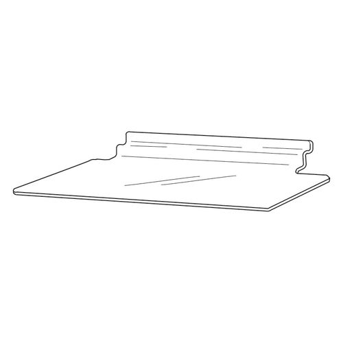 Slatwall Right Angled Shelf