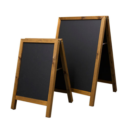 Rectangular Chalk A-Board