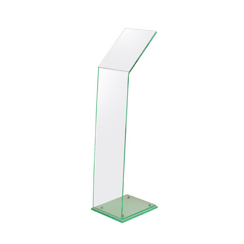 Glass Effect Acrylic Menu Stands